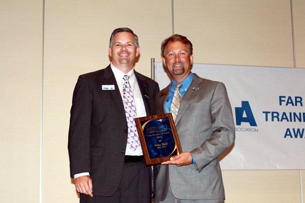 CATA State Recognition Award-Mike West