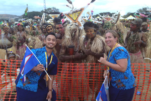 Pacific Games AT ceremony
