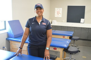 LASC's Athletic trainer, Willda Jarrett, worked for the USA women's basketball team at the World Deaf Championships this summer in Taiwan